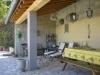 vakantiehuis bessas ardeche frankrijk overdekt terras