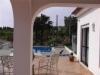 terras bij zwembad Villa Estr.de Benagil Carvoeiro-Benagil Portugal